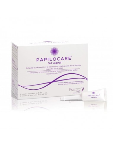 papilocare gel vaginal 21x5ml