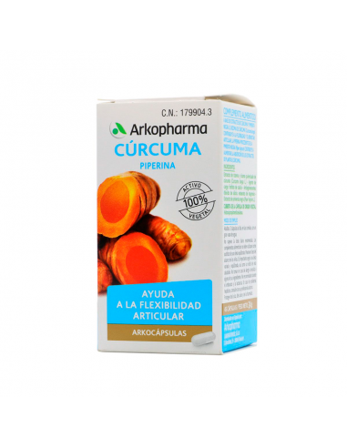 Arkocápsulas Cúrcuma BIO – 40 cápsulas